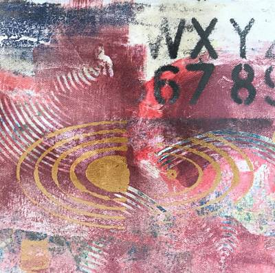 Mixed Media - Uncertain by Susan Richards