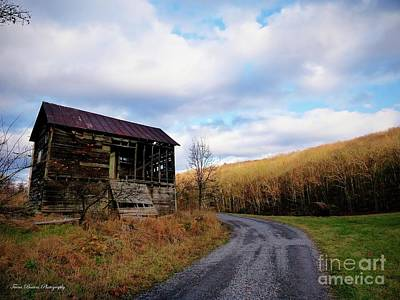 Pendleton County Photograph - Uncertainty In Color by Teena Bowers