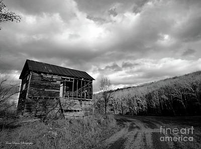 Pendleton County Photograph - Uncertainty  by Teena Bowers