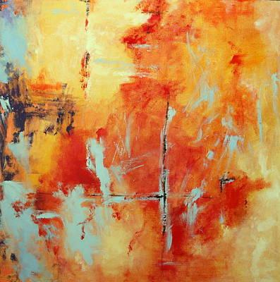 Painting - Uncharted Destination by M Diane Bonaparte
