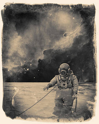 Murphy Mixed Media - Uncharted Waters by Dylan Murphy