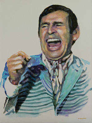 Paul Lynde Painting - Uncle Arthur by Tommy Midyette