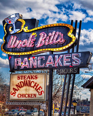 Uncle Bill's Pancakes Art Print by Robert  FERD Frank