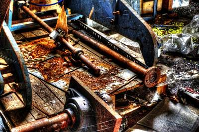 Photograph - Uncle Fred's Workshop by John Williams