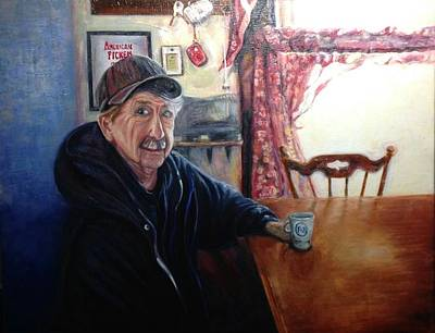 Painting - Uncle Harold, Maquoketa, Iowa by J Reynolds Dail