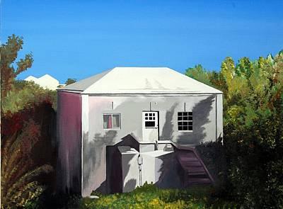 Uncle Leons House Art Print by Caleb Bynum