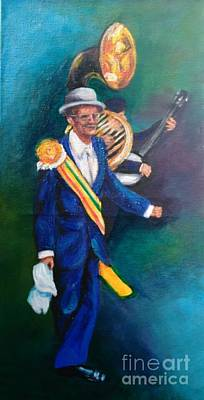Painting - Uncle Lionel by Beverly Boulet