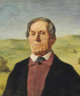Painting - Uncle Ludwig Maier by Treasury Classics Art