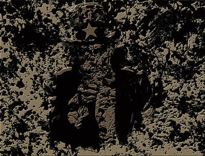 Benjamin Franklin Mixed Media - Uncle Sam 1c by Brian Reaves