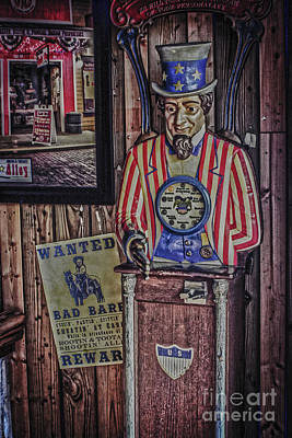 Photograph - Uncle Sam Fortune Machine by Sandy Moulder