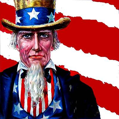 Digital Art - Uncle Sam by Marianne Dow
