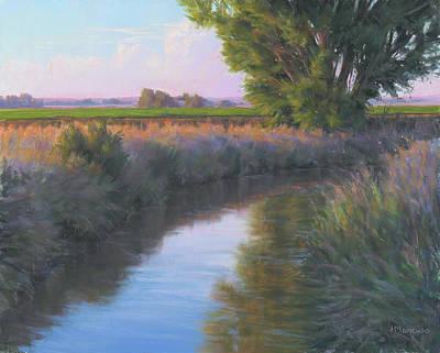Sacramento Painting - Uncle Tom's  by Joe Mancuso
