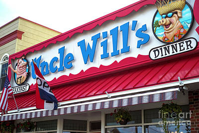 Photograph - Uncle Will's by John Rizzuto