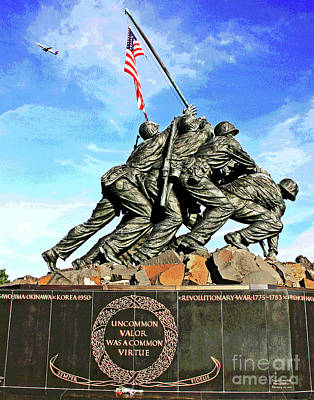 Photograph - Uncommon Valor by Larry Oskin