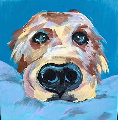 Easterseals Painting - Unconditional Love by Cindy B