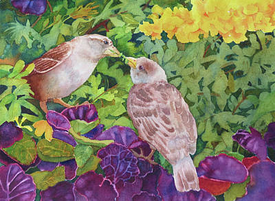 Painting - Unconditional Love by Judy Mercer