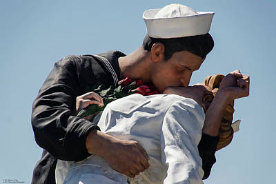 Photograph - Unconditional Surrender - A Close-up by Hany J