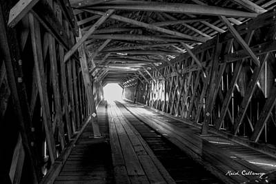 Photograph - Weatherizing Uncovered Watson Mill Covered Bridge by Reid Callaway