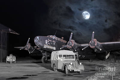 From The Kitchen - Under a Bombers Moon by Airpower Art
