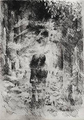 Under A March Moon Original by Rachel Christine Nowicki