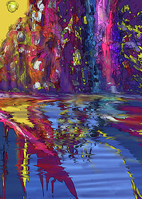 Digital Art - Under A Tropical Sun by Ian  MacDonald
