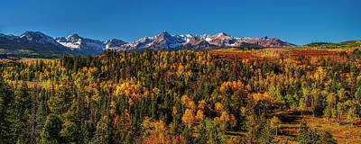 Mountain Royalty-Free and Rights-Managed Images - Under an Autumn Sky by Andrew Soundarajan