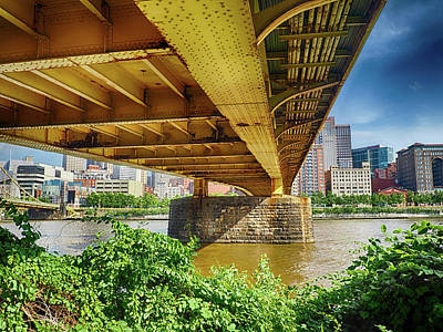 Photograph - Under Andy Warhol Bridge by C H Apperson