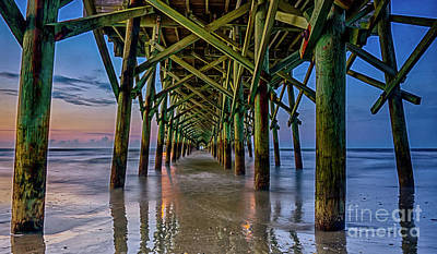 Photograph - Under Apache Pier by David Smith