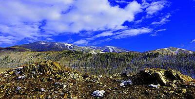 Photograph - Under Blue Skies by Matt Helm