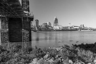 Photograph - Under Bridge To Cincinnati by John McGraw