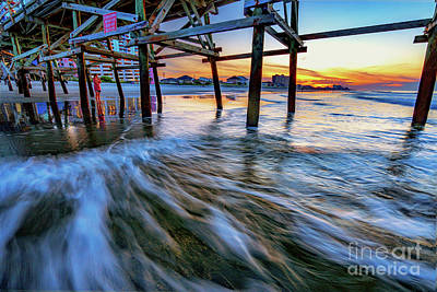 Photograph - Under Cherry Grove Pier 2 by David Smith