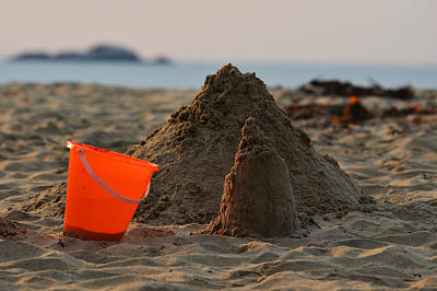 Sand Castles Digital Art - Under Construction Singing Beach Manchester By The Sea Ma by Toby McGuire