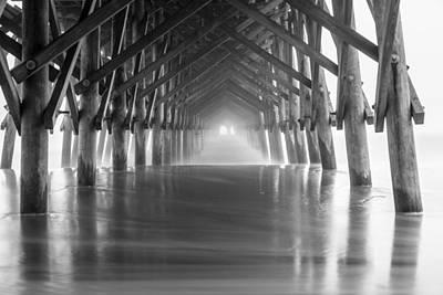 Photograph - Under Folly Beach Pier by John McGraw