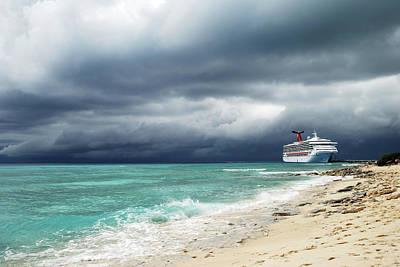 Photograph - Under Heavy Skies by Ramunas Bruzas