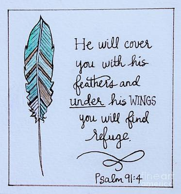 Painting - Under His Wings by Elizabeth Robinette Tyndall