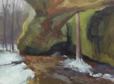 Painting - Under Mantle Rock by Todd Derr