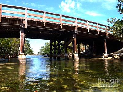 Pennekamp Photograph - Under Pennekamp Bridge by Tammy Chesney
