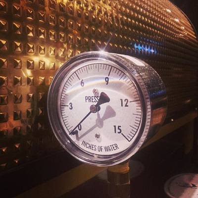 Restaurant Wall Art - Photograph - Under Pressure #coffee #cafe by Carlos Alkmin