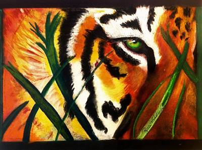 Painting - Under Scrutiny by Renee Michelle Wenker