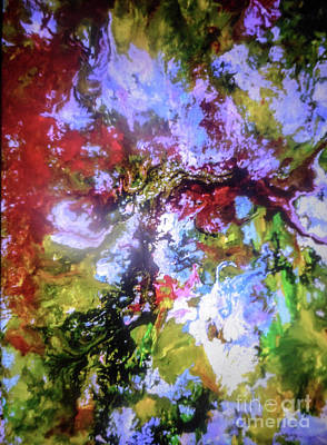 Justine Painting - Under The Arbor by Elle Justine