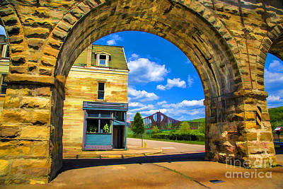Photograph - Under The Arch by Rick Bragan