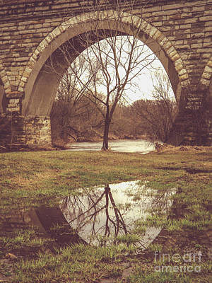 Photograph - Under The Arch by Viviana  Nadowski