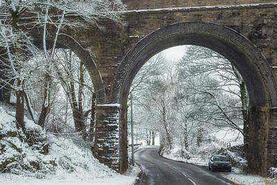 Peak District Photograph - Under The Arches by Chris Fletcher