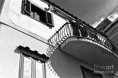 Photograph - Under The Balcony In Positano by John Rizzuto