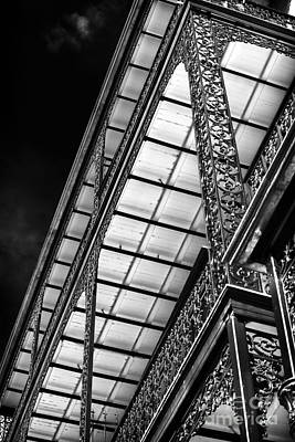 Old School House Photograph - Under The Balcony by John Rizzuto