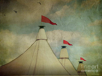 Under The Big Top Art Print