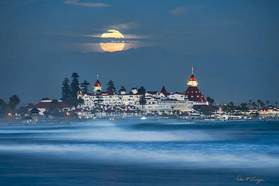 Coronado Photograph - Under The Blue Moon by Dan McGeorge
