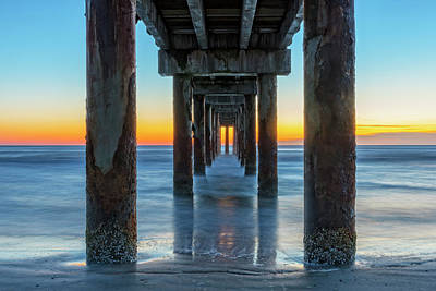 Photograph - Under The Boardwalk by Jim Vallee