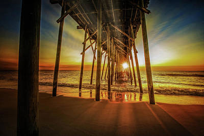 Digital Art - Under The Boardwalk  by Michael Damiani