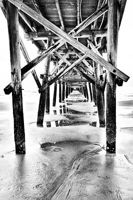 Photograph - Under The Boardwalk by Wade Brooks